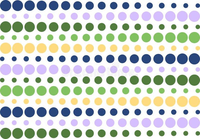 Retro reticolo a strisce di semitono illustrazione vettoriale