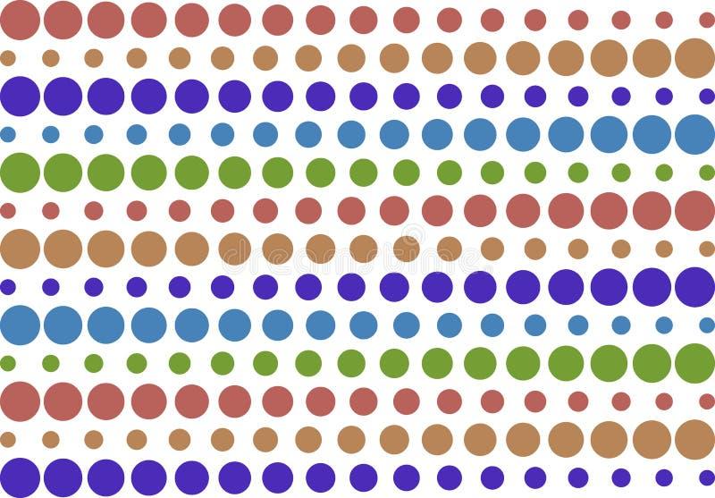 Retro reticolo a strisce di semitono illustrazione di stock