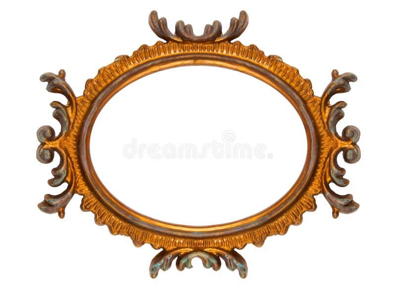 Download Retro Revival Old Ellipse Frame Stock Image - Image: 7506681