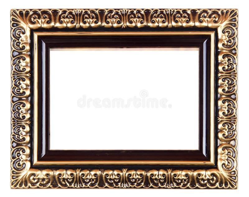 Download Retro Revival Old Gold Frame Stock Image - Image: 7509483