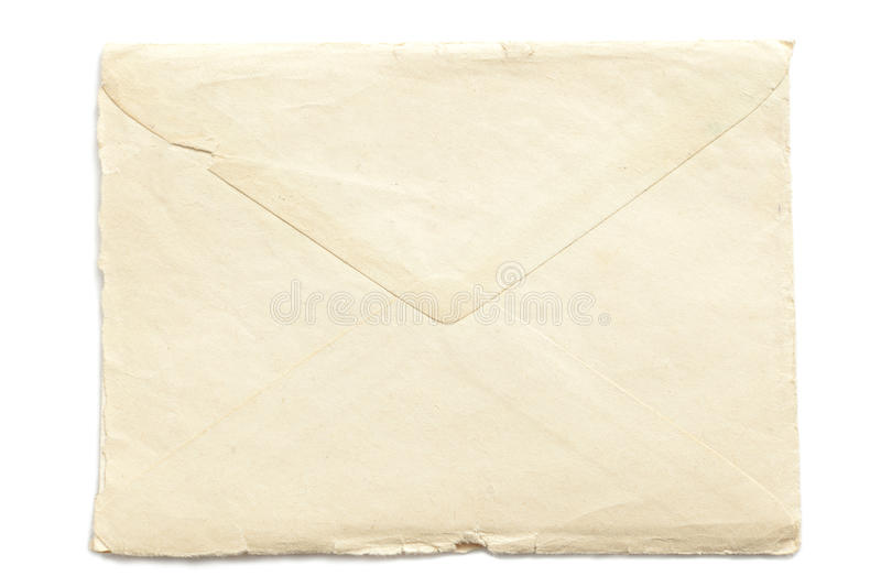 Download Retro ripped envelope stock image. Image of abstract - 26547813