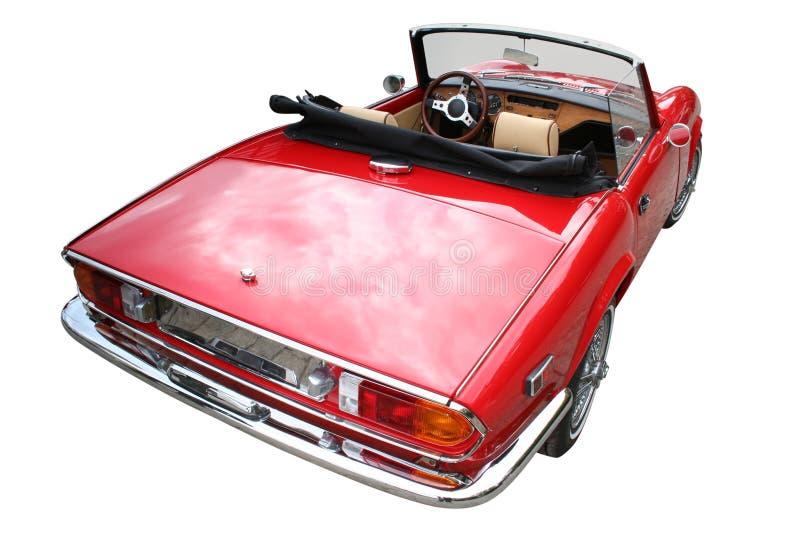 Retro roadster immagine stock libera da diritti