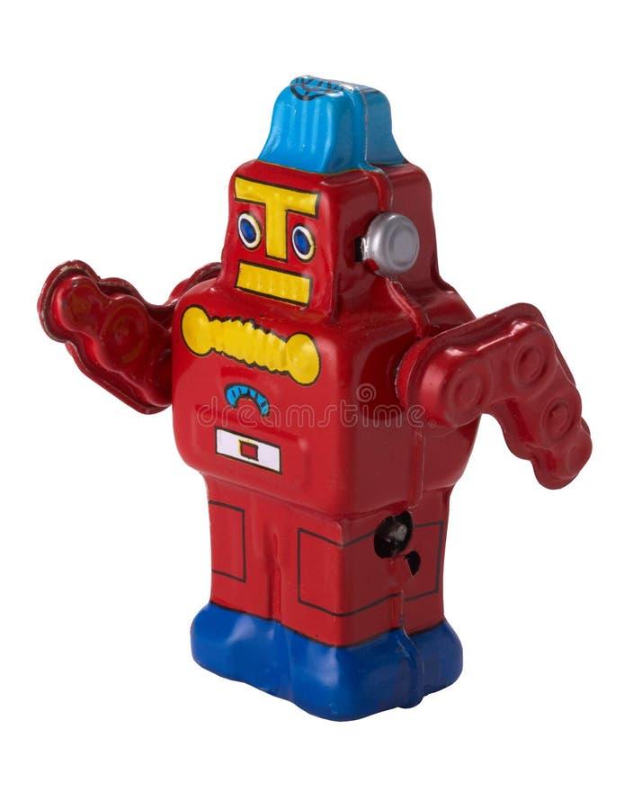 Retro robot fotografie stock