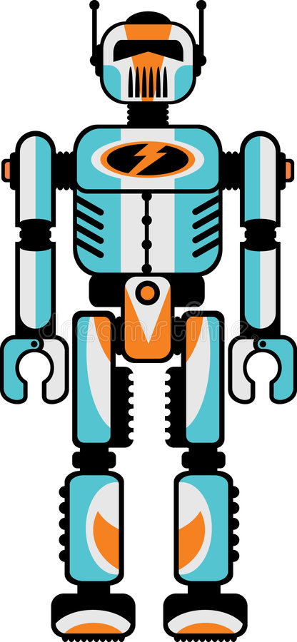 Download Retro Robot Stock Photos - Image: 8912873