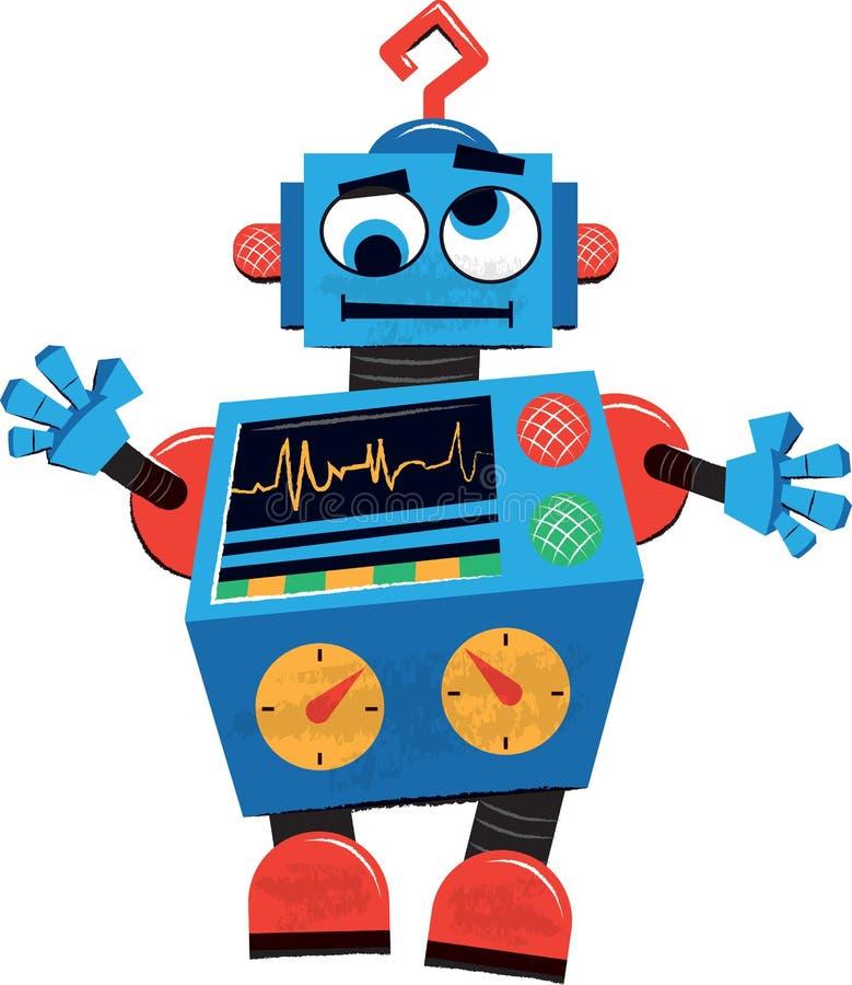 Retro robot childrens illustration stock vector illustration of download retro robot childrens illustration stock vector illustration of illustration children 41989676 filmwisefo Gallery
