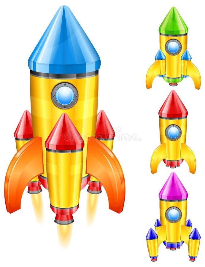 Download Retro rocket stock vector. Image of technology, retro - 22864496