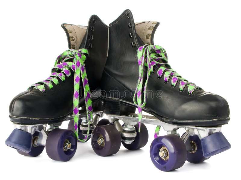 Download Retro roller skates stock image. Image of sports, white - 5754805