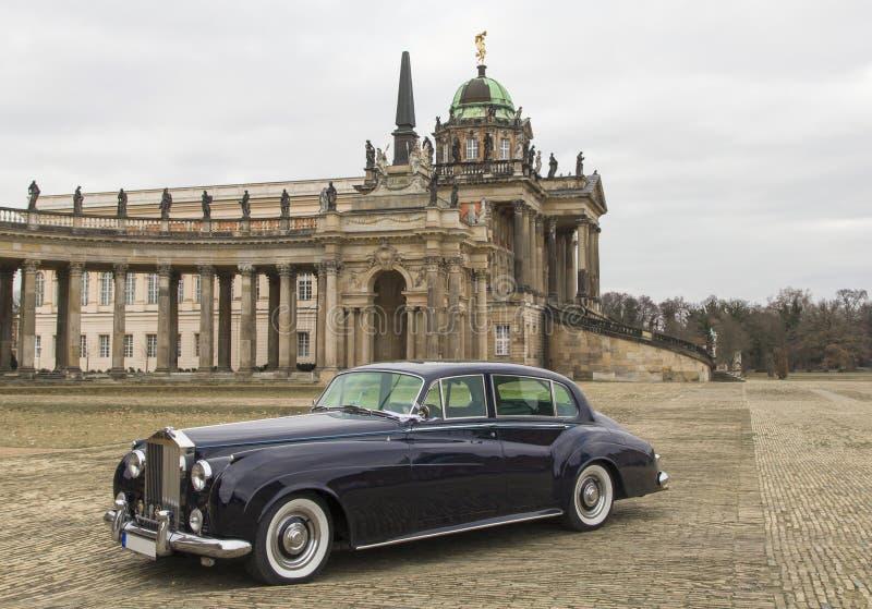 Retro Rolls Royce immagini stock libere da diritti