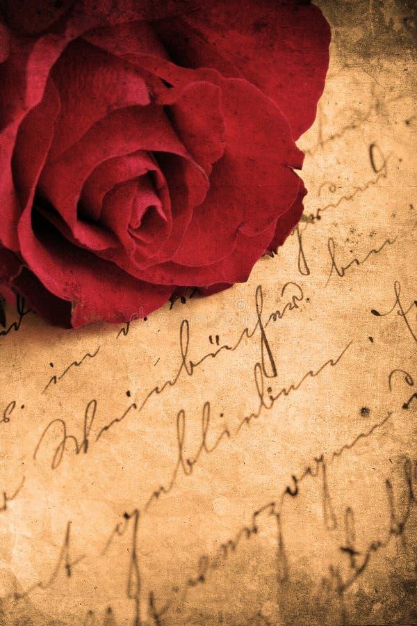 Download Retro Rose stock illustration. Image of title, letter - 7497754