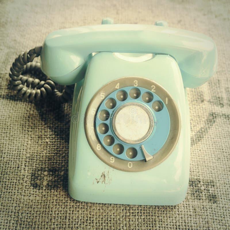 retro roterande telefon royaltyfria foton