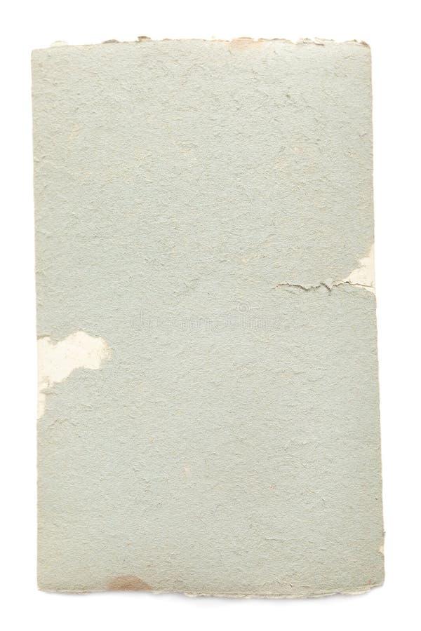 Retro rozdzierający papier zdjęcia royalty free