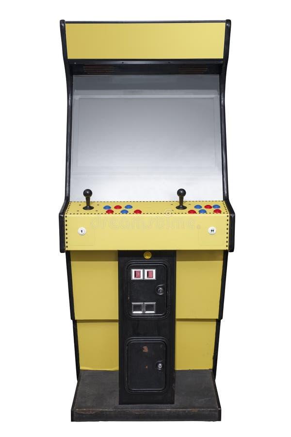 Retro- Säulengangmaschine lizenzfreie stockfotos