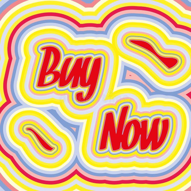 Retro Sale Poster Stock Image