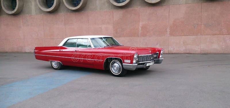 Retro samochodowe Cadillac Deville serie 62 obraz stock