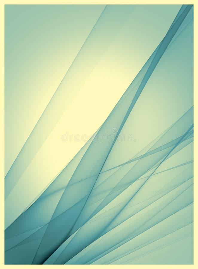 Retro- Schablone mit blauer Beschaffenheit lizenzfreie abbildung