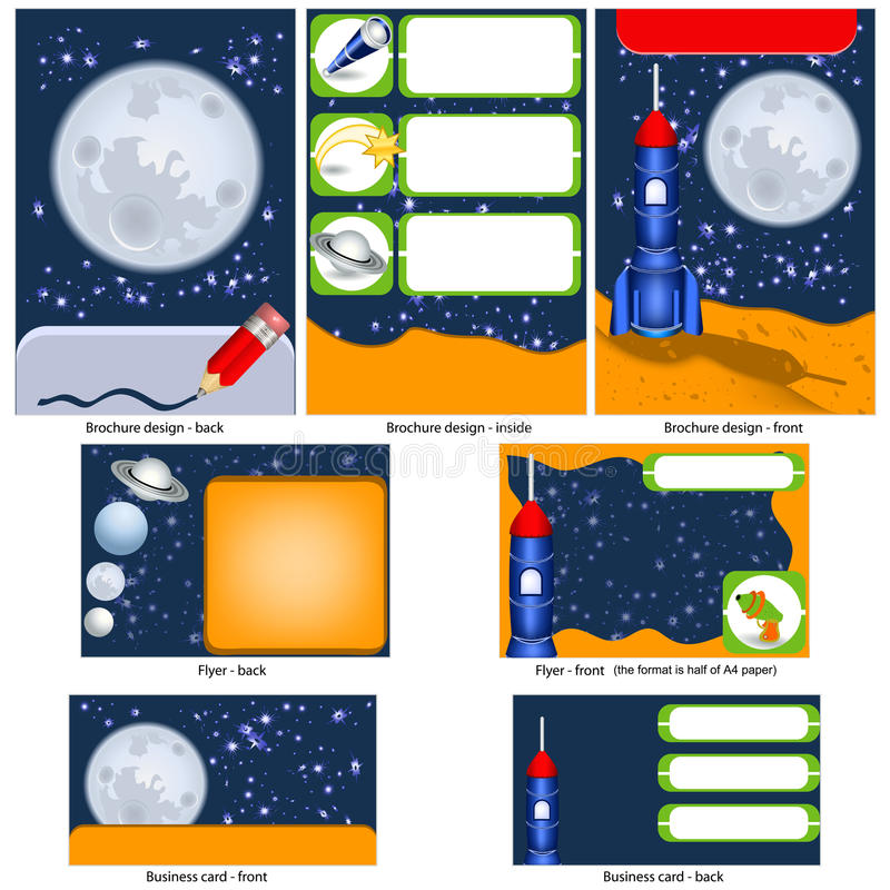 Download Retro sf stationary stock vector. Illustration of space - 30259124