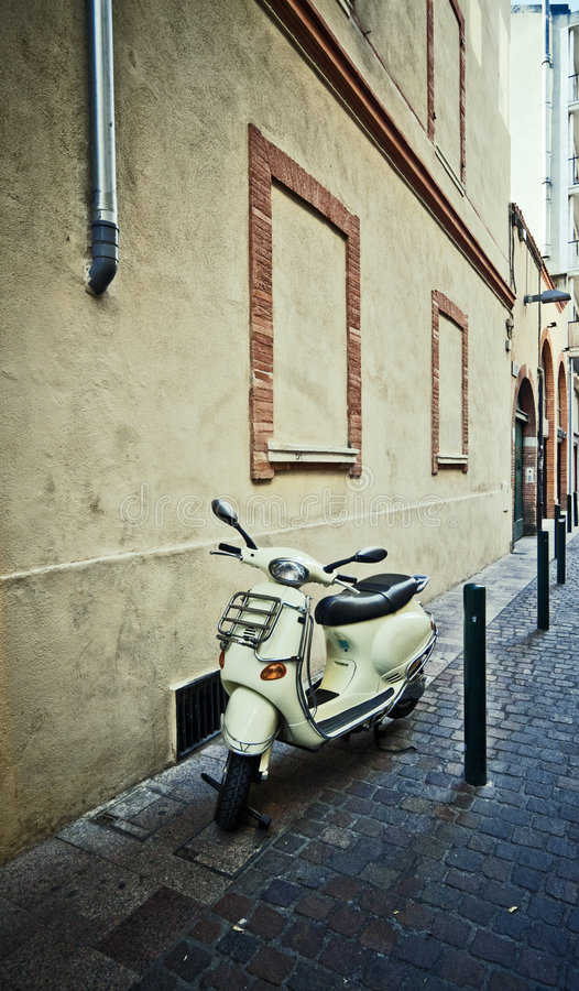 Download Retro Scooter stock image. Image of vintage, italian, lifestyle - 6754695