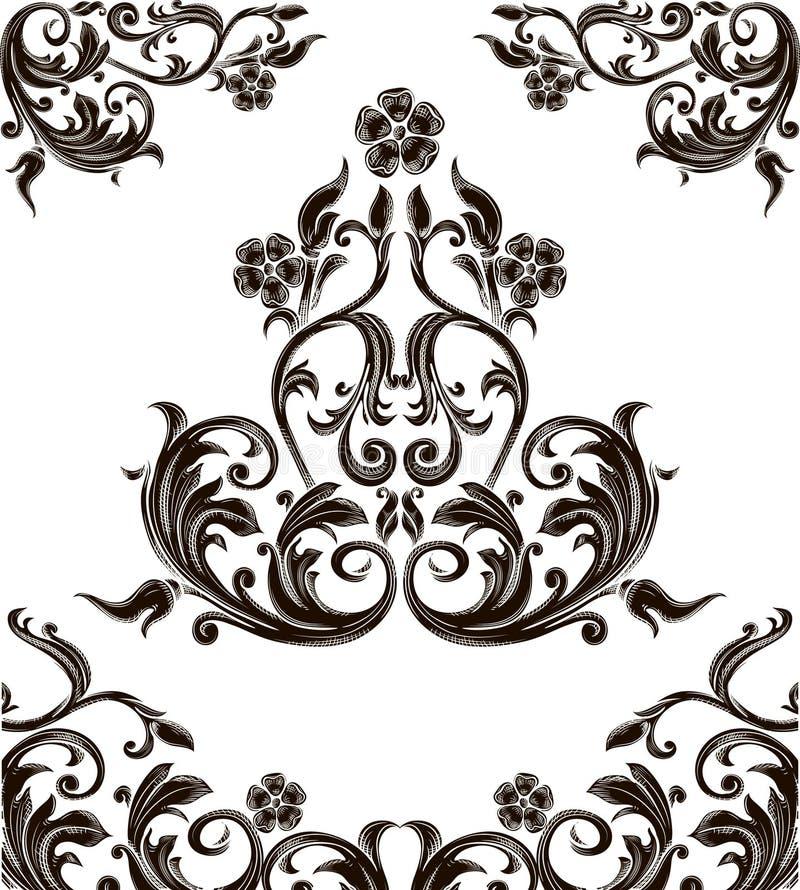Download Retro scrolls stock vector. Image of element, graphic - 21948839