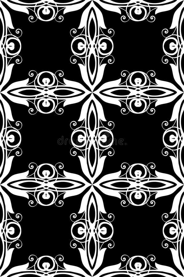 retro seamless för bakgrund vektor illustrationer
