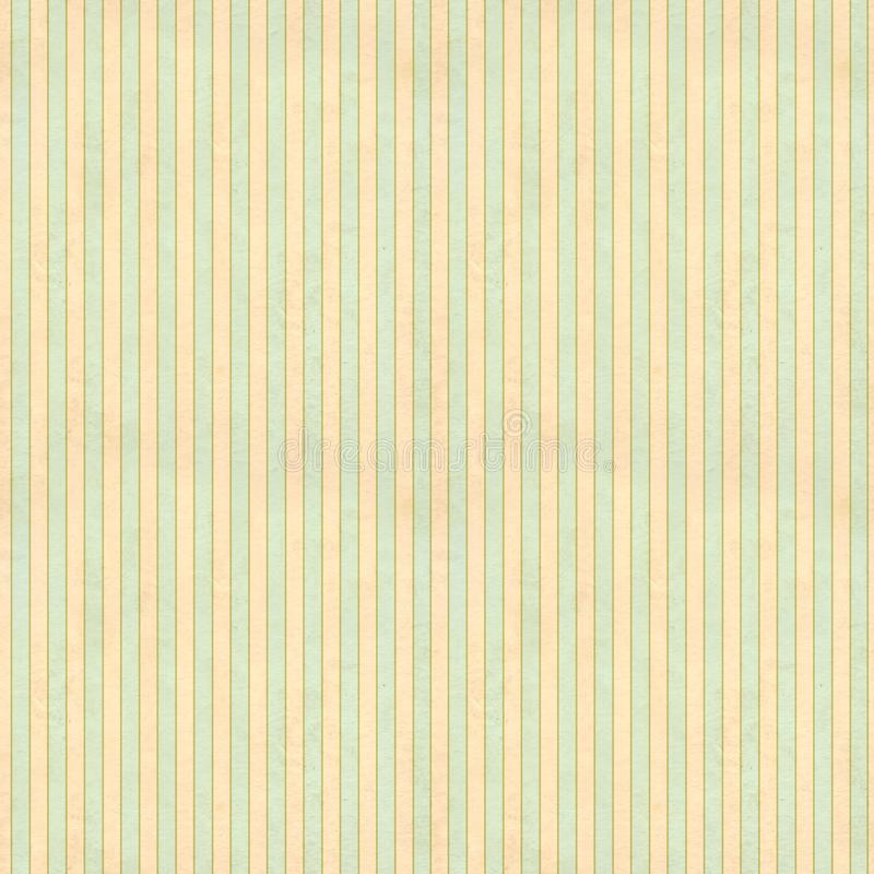 Retro seamless pattern in shabby chic style. Seamless retro pattern tiling in shabby chic style with strips and old paper texture. Endless texture can be used royalty free stock photo