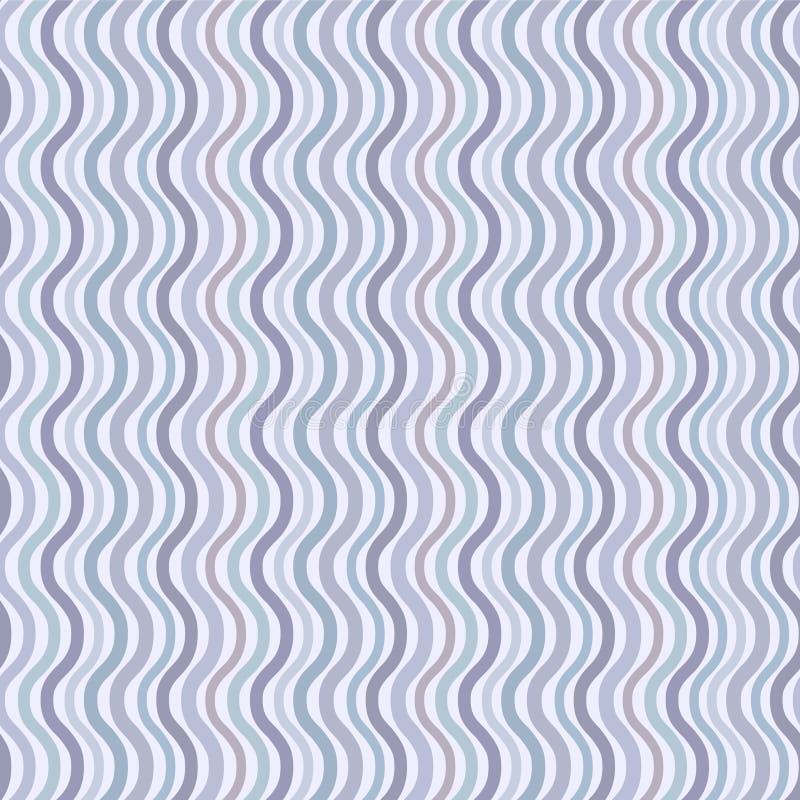 Retro seamless wave pattern vector illustration
