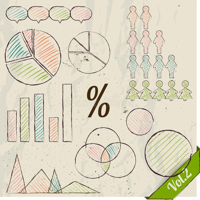 Free Retro Set Of Infographic Elements. Royalty Free Stock Image - 32776256