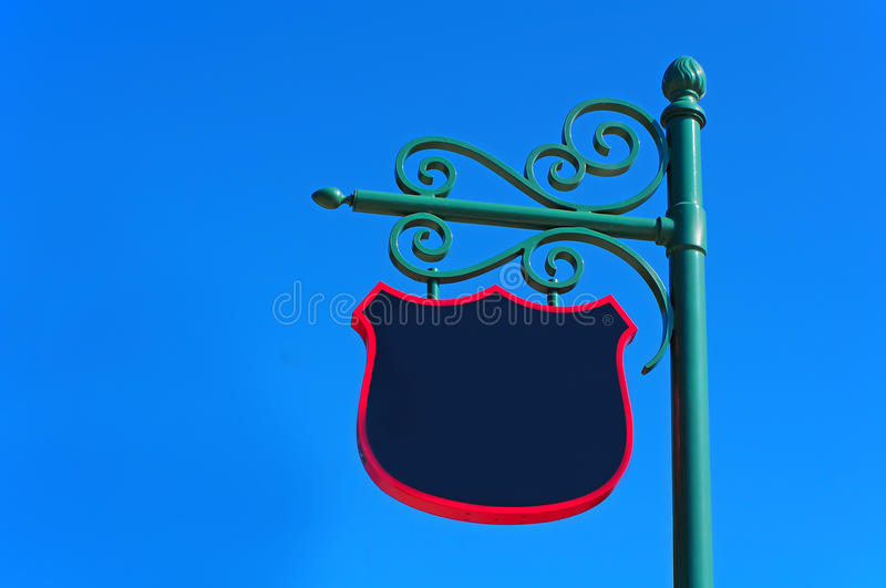 Download Retro Sign Post Royalty Free Stock Photos - Image: 22455888