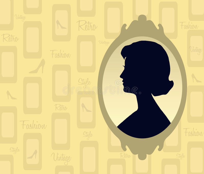 Download Retro Silhouette Royalty Free Stock Image - Image: 20753046
