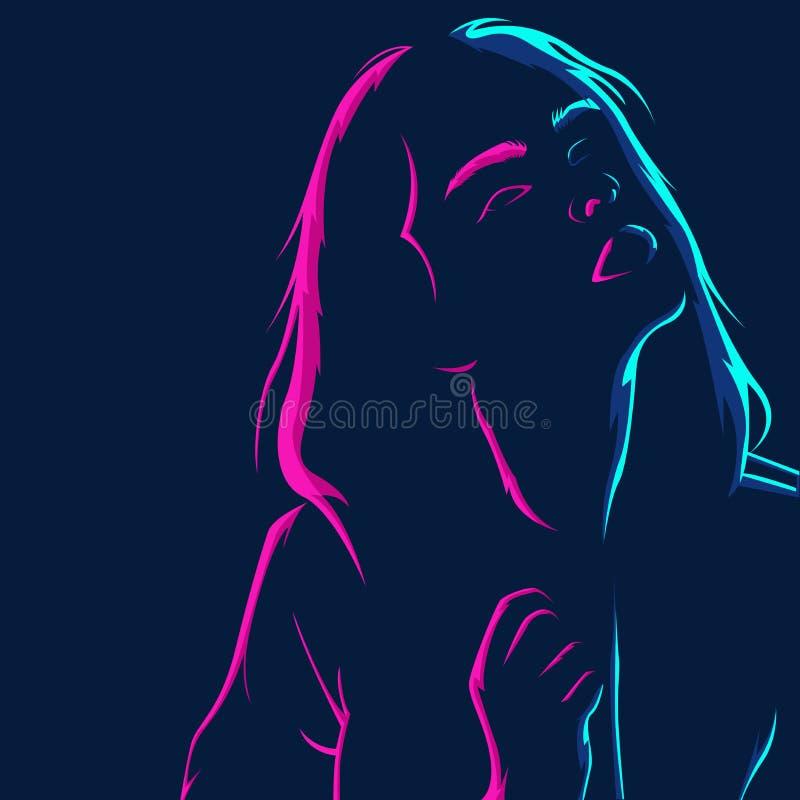Silhouette Women Stock Illustrations 87,857 Silhouette
