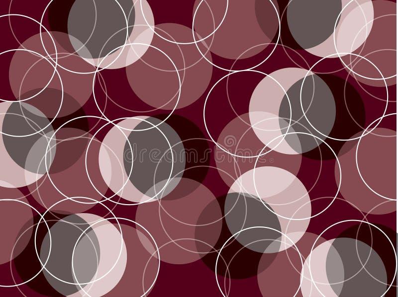 Download Retro skinny rings maroon stock vector. Image of grey - 3213114