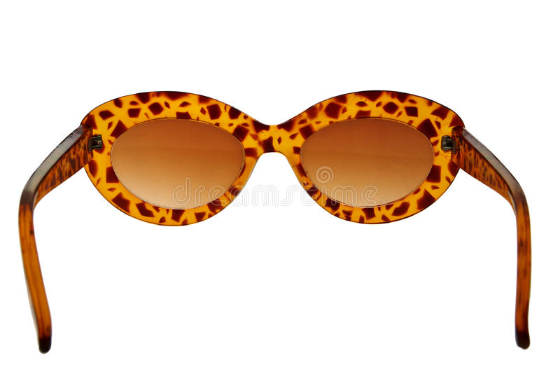 Retro- Sonnenbrillen lizenzfreie stockbilder