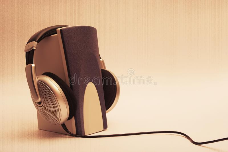 Retro-sound stock photography