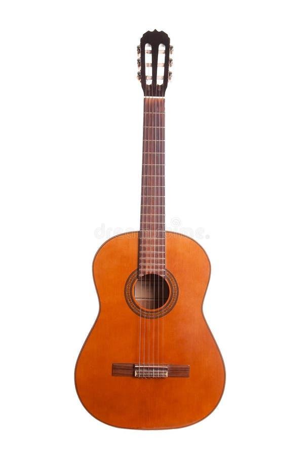 Retro spanish guitar royalty free stock photography