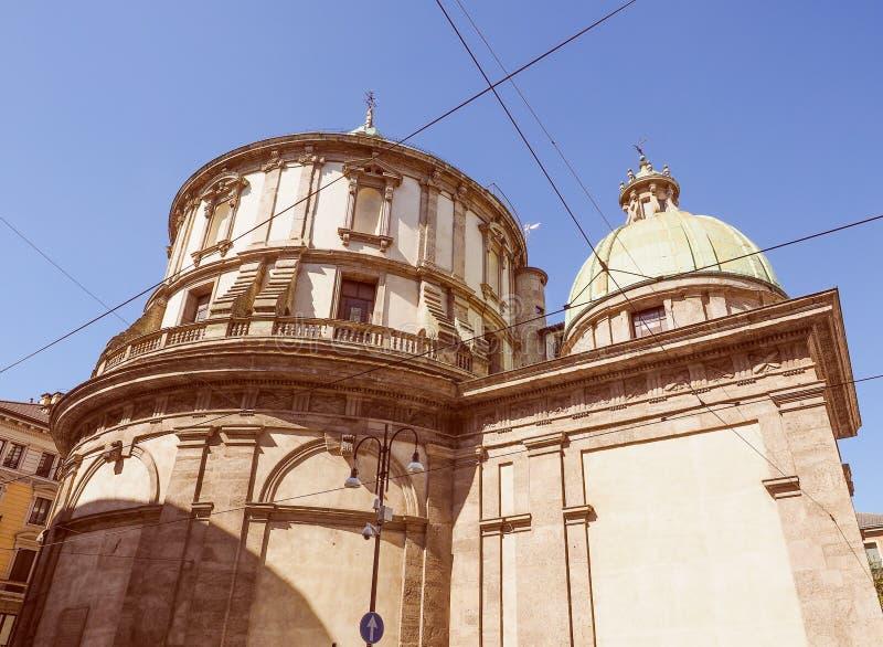 Download Retro Spojrzenie świątynia San Sebastiano Zdjęcie Stock - Obraz złożonej z centrala, architektury: 53784208