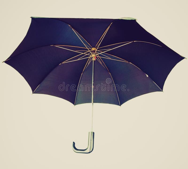 Retro spojrzenie parasol obrazy royalty free