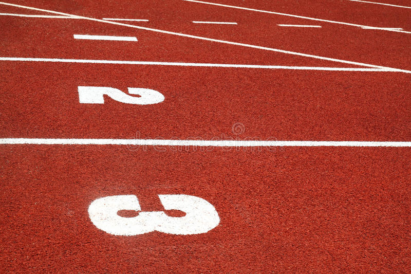 Retro sport running track. School, healthy.