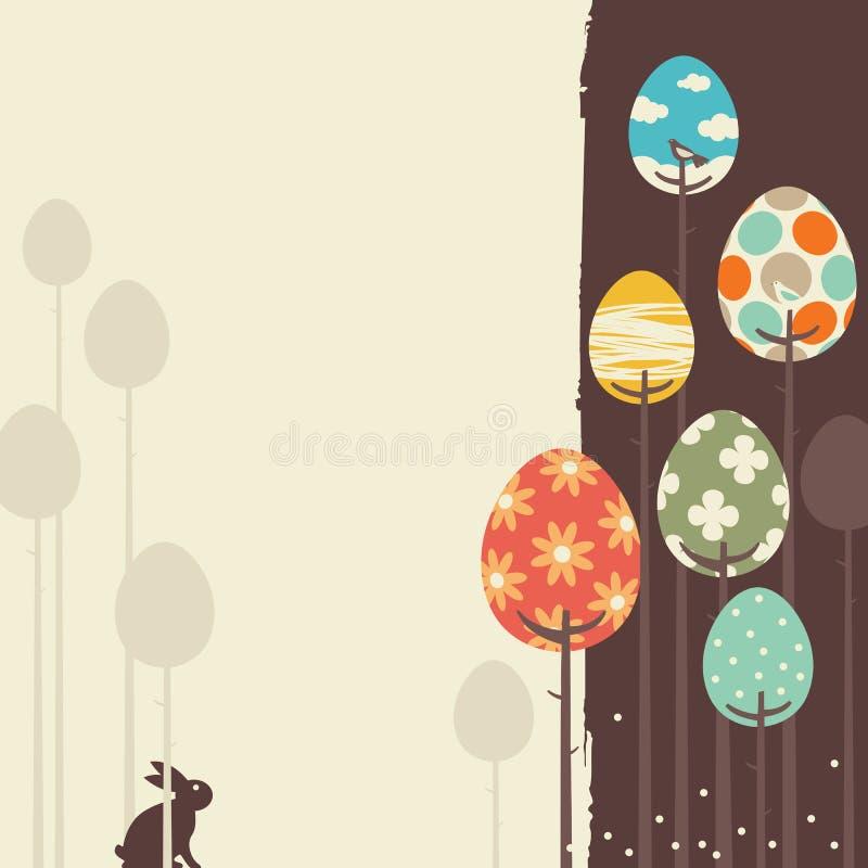 Retro Spring Design stock illustration