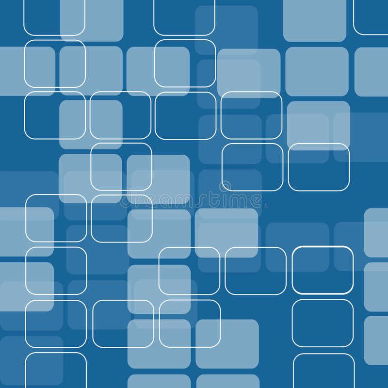 Retro squares royalty free illustration
