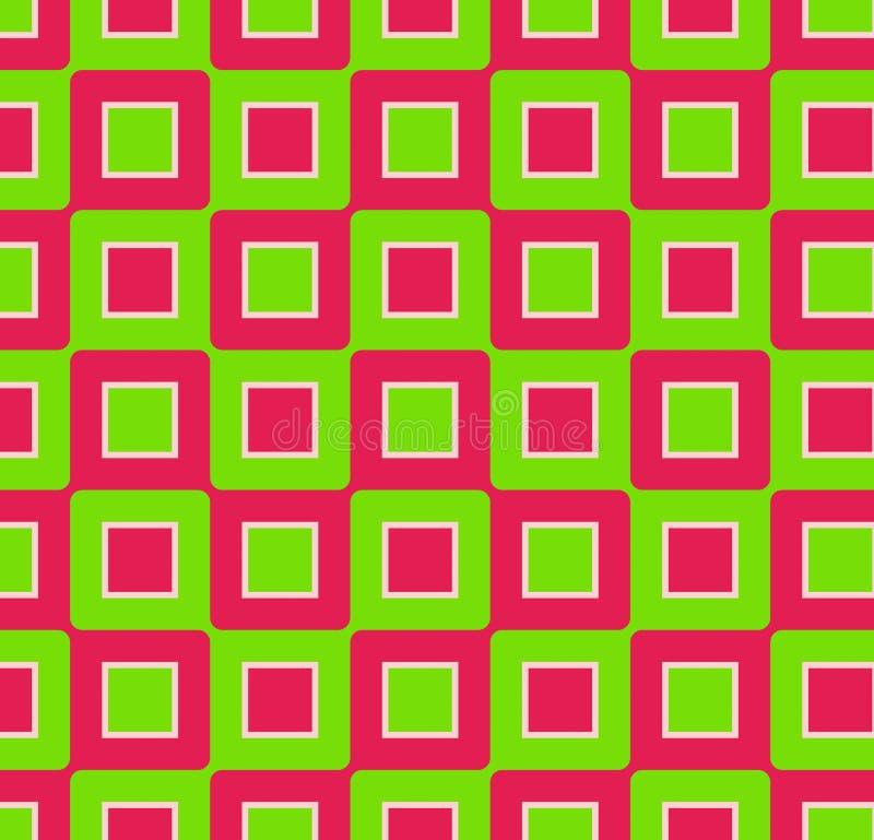 Download Retro Squares stock illustration. Illustration of pink - 2398111