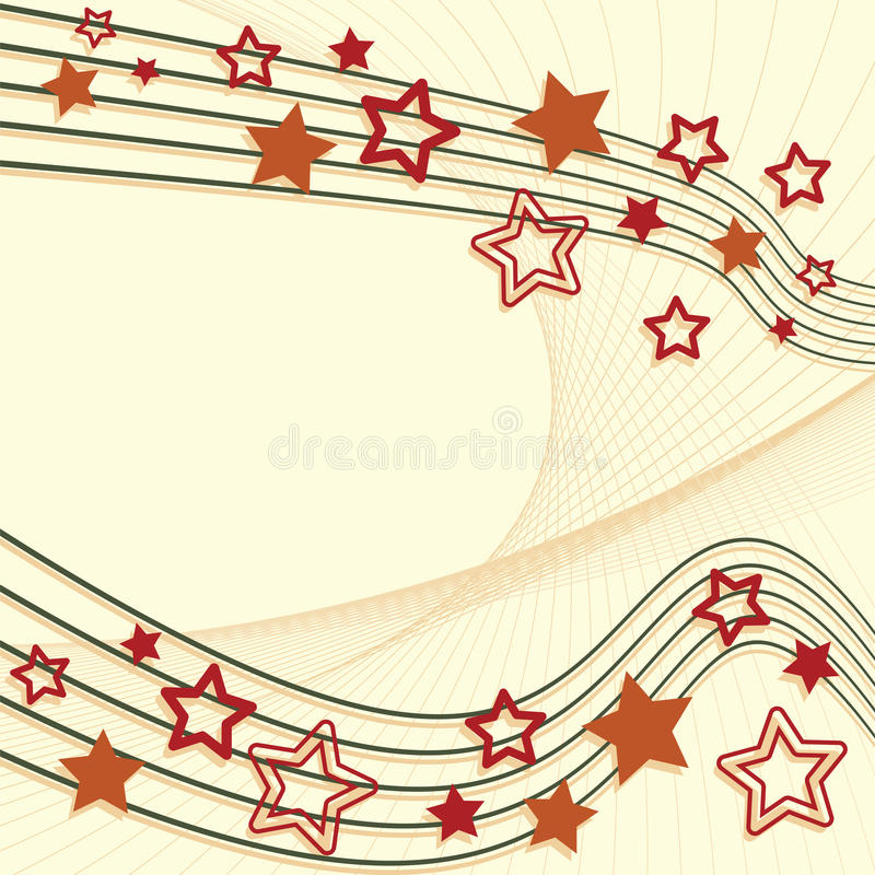 Download Retro star background stock vector. Image of festival - 24385027