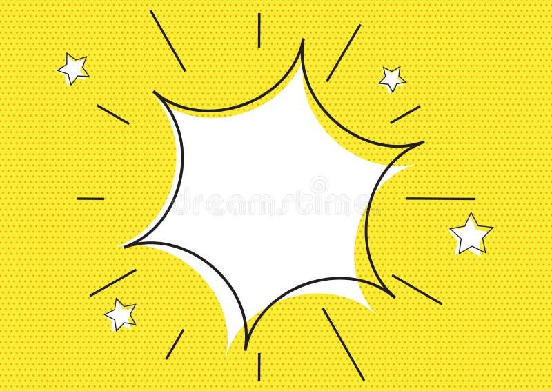 Retro starburst t?o ilustracja wektor