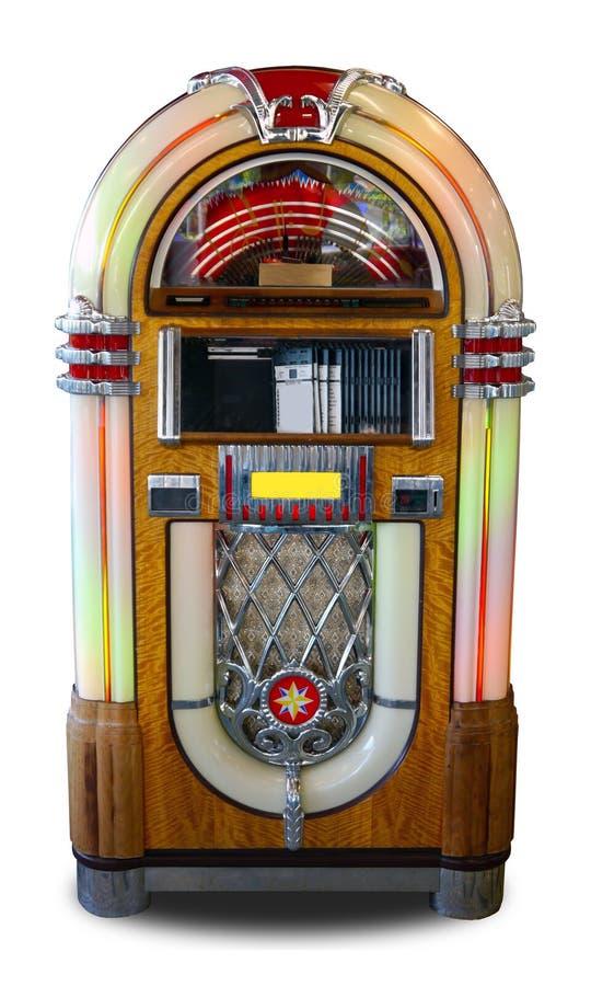 retro stil för jukebox arkivfoton