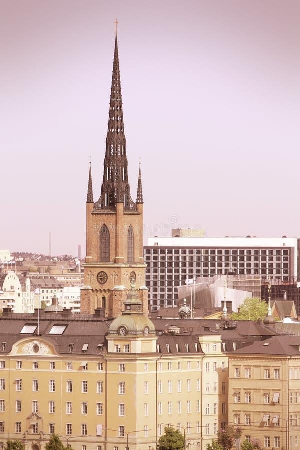 Retro Stockholm Stock Photo