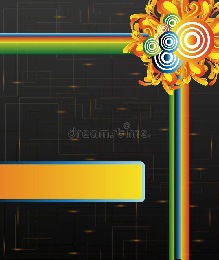 Download Retro striped stock vector. Illustration of paper, colorful - 20265933