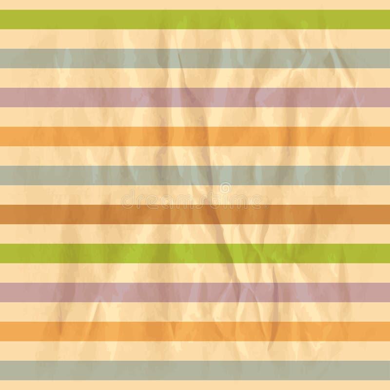 Retro striped background vector illustration