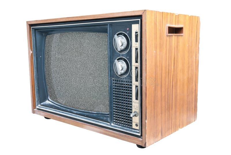 retro strony tv widok obraz royalty free
