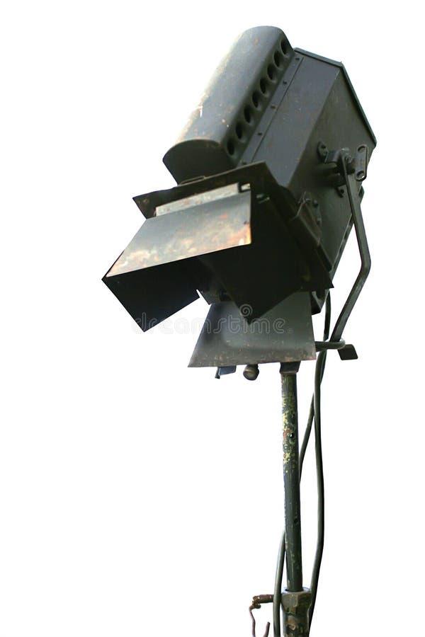 Retro- Studiolampe lizenzfreies stockfoto
