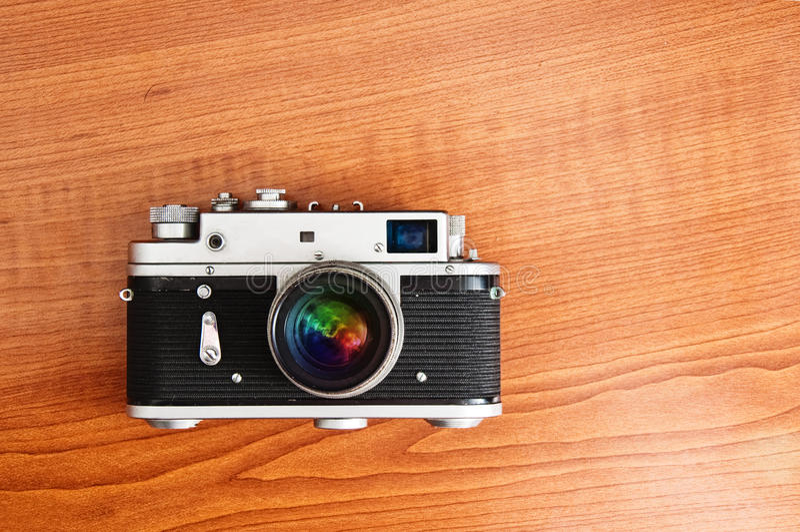 Download Retro style camera stock photo. Image of photo, background - 26445436