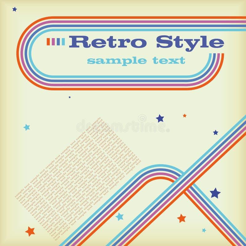 Retro Style LP stock illustration