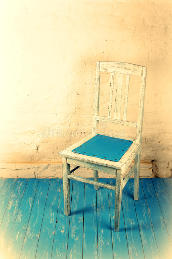 Retro style - Old chair royalty free stock photography